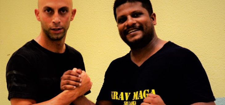 Krav Maga training in France with legendary Master Roy Elghanayan in May 2017.