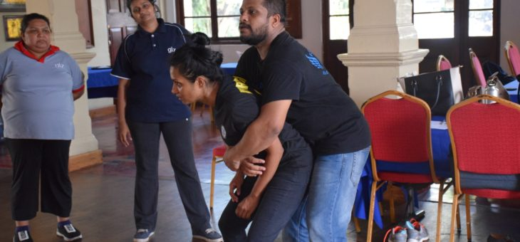 Krav Maga Self Defense Training Program to GIZ Sri Lanka Colombo staff