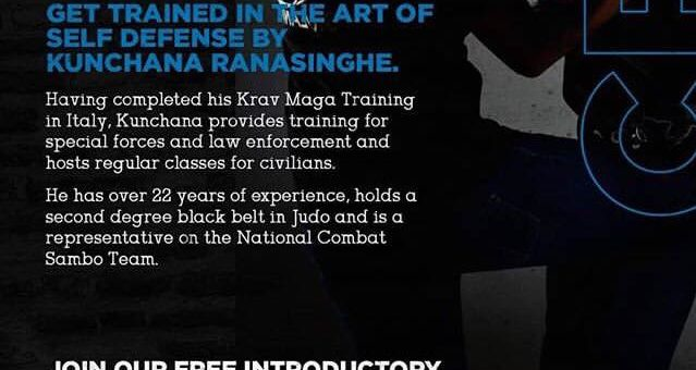 Crossfit Ceylon introducing Krav Maga Self Defense classes